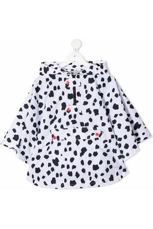 Stella McCartney Kids Dalmatian spots cape