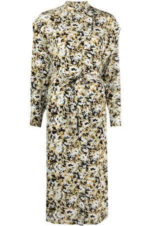 Equipment Ondine abstract-print dress