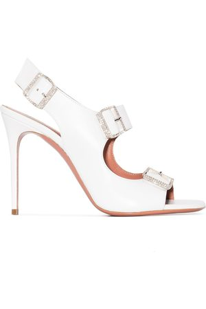 Amina Muaddi Women Heeled Sandals - Marni 95mm high heel sandals
