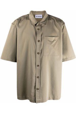 HAN Kjøbenhavn Classic-collar short-sleeve shirt