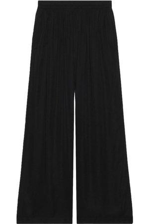 Balenciaga Wide Leg Pants - Fluid wide-leg trousers - 1000