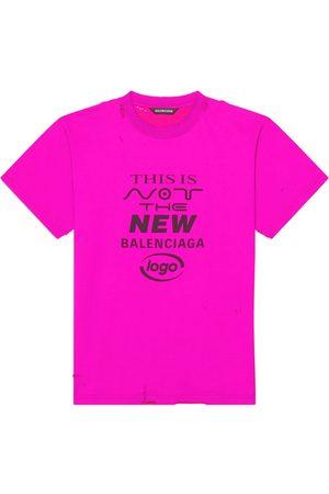 Balenciaga T-shirts - Slogan-print T-shirt