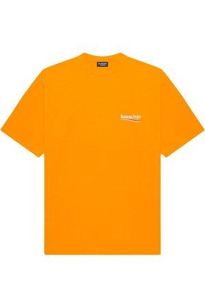 Balenciaga Logo-print T-shirt - 7073 FLUO O/ /