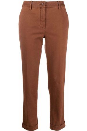 Aspesi Mid-rise slim-fit trousers