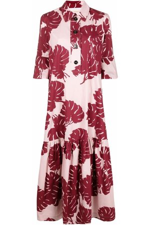 La DoubleJ Women Casual Dresses - Artemis abstract-print shirt dress