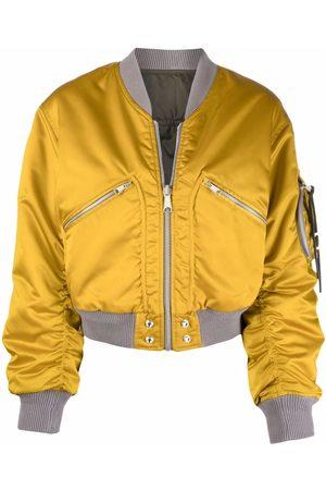 Diesel Cropped reversible bomber jacket