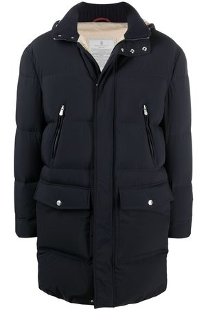 Brunello Cucinelli Mid-length padded coat