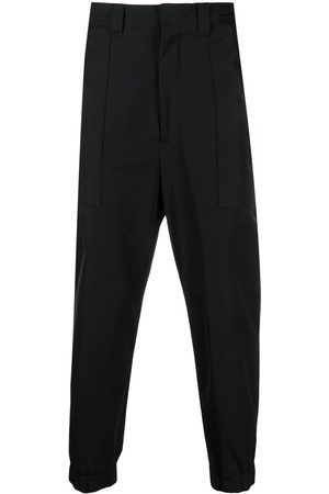 Ami Elasticated-ankles trousers