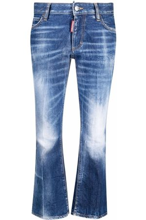 Dsquared2 Bootcut cropped jeans