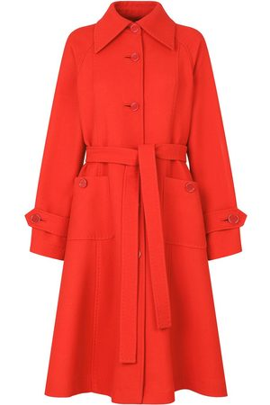 Dolce & Gabbana Belted A-line trench coat