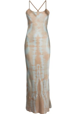 JOHN ELLIOTT Sleeveless midi slip dress - Grey
