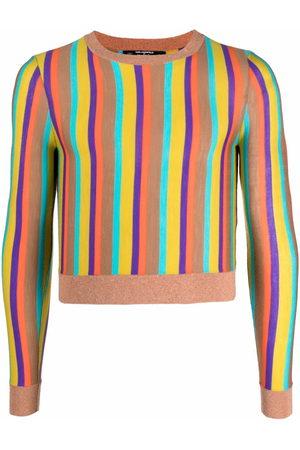 Karl Lagerfeld X Kenneth stripe knit jumper