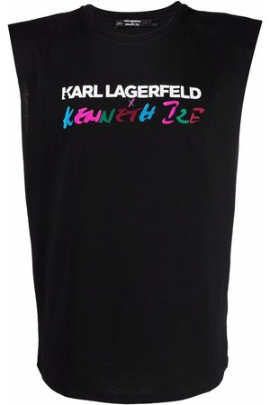 Karl Lagerfeld X Kenneth Ize tank top