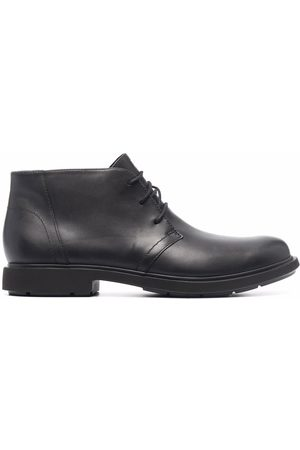 Camper Men Lace-up Boots - Neuman lace-up leather boots