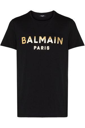 Balmain Men T-shirts - Foil logo T-shirt