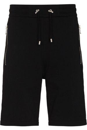 Balmain Embossed track shorts