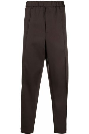 Jil Sander Press-crease relaxed fit trousers