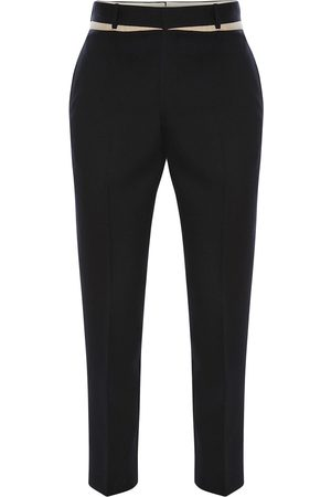 Alexander McQueen Panelled slim-fit trousers