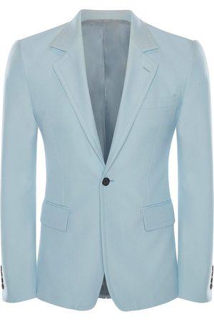 Alexander McQueen Men Blazers - Single-breasted wool blazer