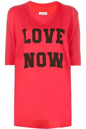Zadig&Voltaire Women T-shirts - Portland Love Now slouch T-shirt