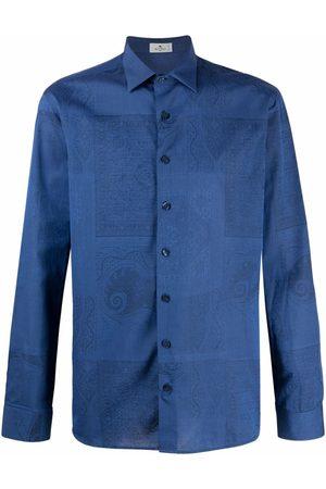 Etro Patterned jacquard shirt