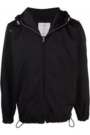 Sandro Paris Logo-print jacket