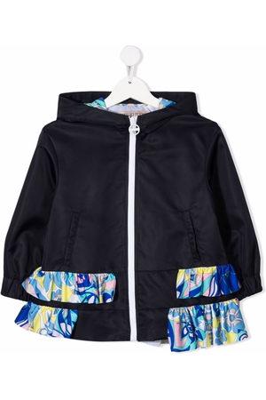 Emilio Pucci Junior Ruffle-detail jacket