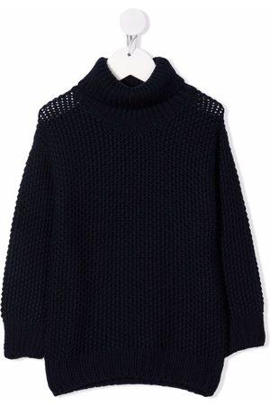 Il Gufo Chunky-knit roll-neck jumper