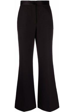 Sandro Paris Women Wide Leg Pants - Meryl flared-leg trousers