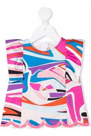Emilio Pucci Junior Graphic-print blouse