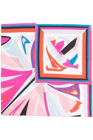 Emilio Pucci Junior Lance print cotton scarf