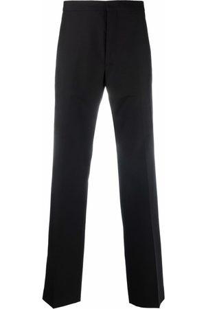 Sandro Paris Men Formal Pants - Straight-leg tailored trousers