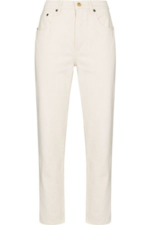 Still Here Core Tate cropped jeans - Neutrals