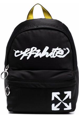 OFF-WHITE Boys Rucksacks - Script logo-print backpack
