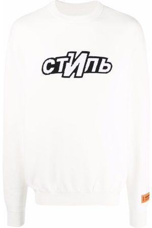 Heron Preston Men Sweatshirts - Knitted logo jumper