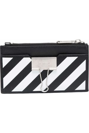 Off-White BINDER CARD CASE WITH POCKETS WHIT