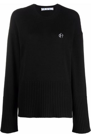 Off-White Embroidered logo jumper