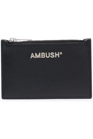 AMBUSH Women Purses - CARD CASE SILVER