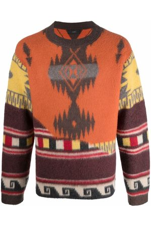 Alanui Over The Andes knitted jumper