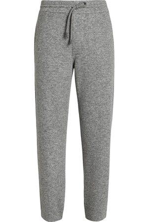 Ermenegildo Zegna Wool-blend drawstring joggers - Grey