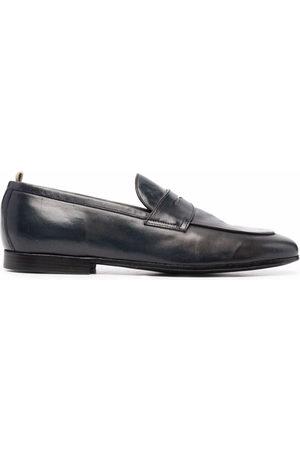 Officine creative Men Loafers - Almond-toe slip-on loafers