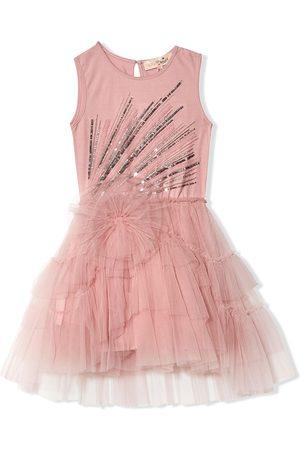 Tutu Du Monde Girls Dresses - Poppy sequin-embellished dress
