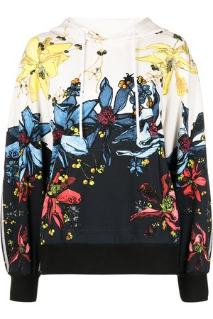 Jason Wu Collection Floral-print hoodie - Multicolour
