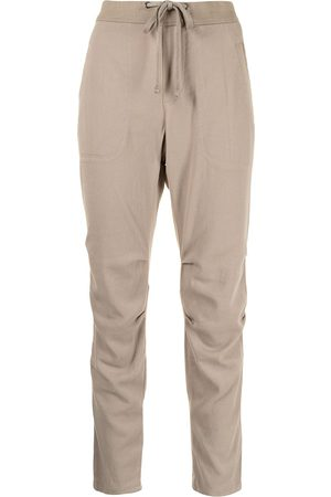 James Perse Drawstring straight-leg trousers