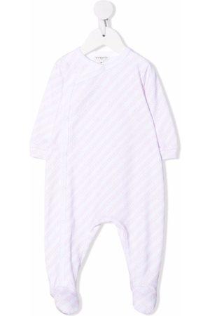 Givenchy Kids Stripe-print cotton pajamas
