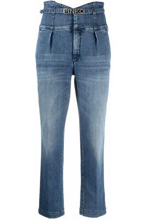 Pinko Women High Waisted - Ariel high-waisted jeans