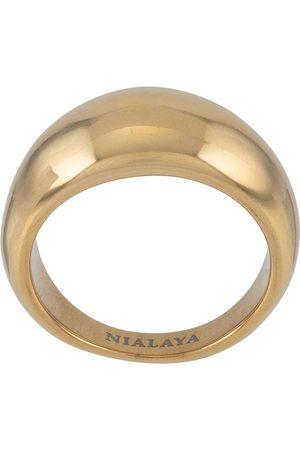 Nialaya Jewelry Dome band ring