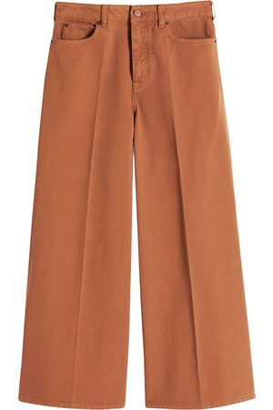 Victoria Victoria Beckham Cropped wide-leg jeans