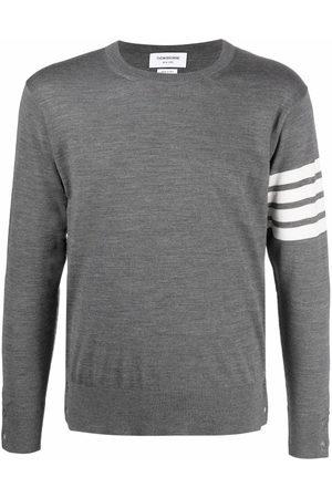 Thom Browne 4-Bar knitted jumper - Grey