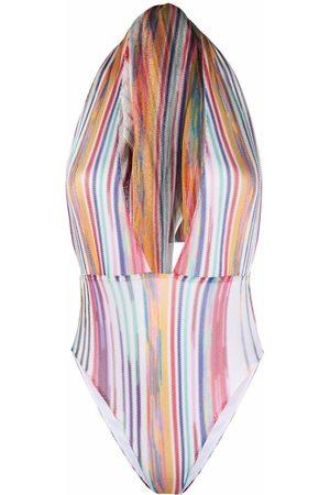 Missoni Vertical-stripe one piece